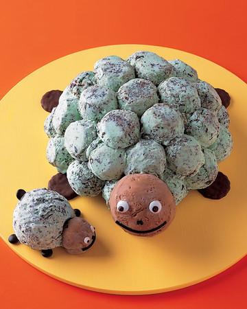 Sea Turtle Ice Cream Cake