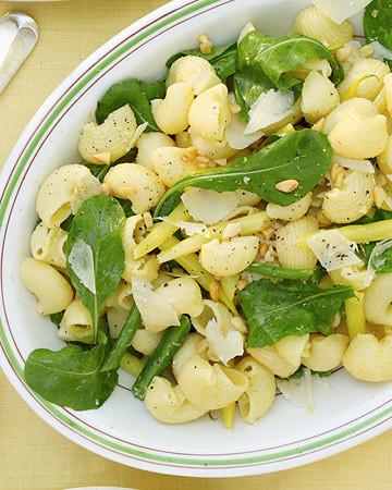 String Bean, Arugula, and Pasta Salad