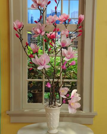 Crepe-Paper Magnolia Flowers