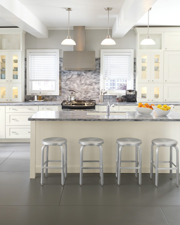 Ideal Organization: Martha Stewart Living Dunemere Kitchen