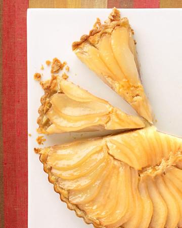John's Pear and Almond-Cream Tart