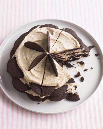 Chocolate-Peanut Butter Icebox Cake