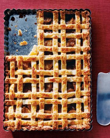 Lattice-Topped Vanilla-Bean-Pineapple Tart