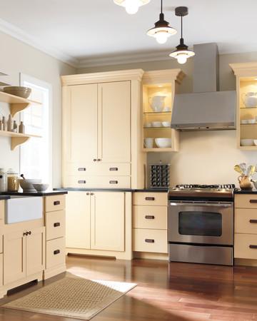 Martha Stewart Living Maidstone Kitchen in Fortune Cookie