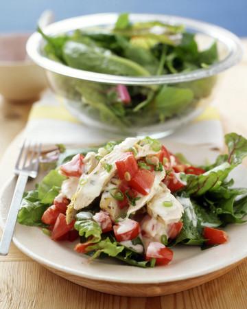 Chicken Salad with Lemon-Yogurt Dressing