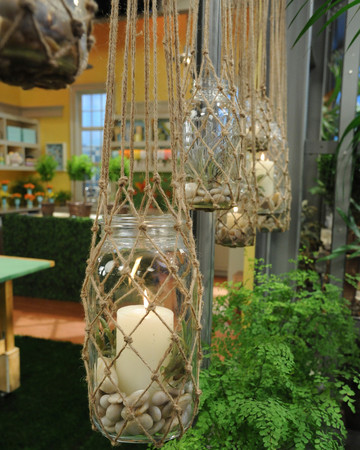 Knotted Hanging Lanterns