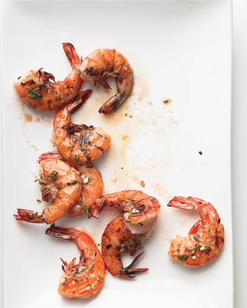 Emeril's Lemon-Herb Grilled Shrimp