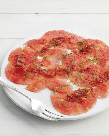 Watermelon Carpaccio