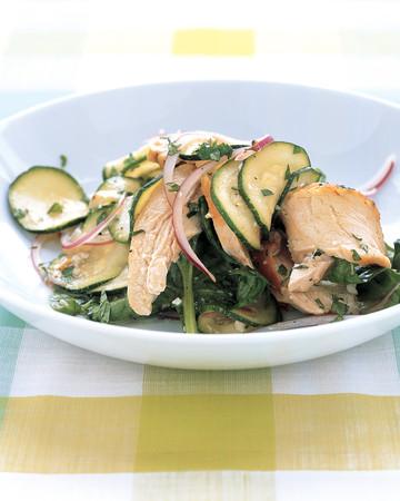 Zucchini and Chicken Salad