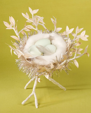 Eggs-in-a-Nest Centerpiece