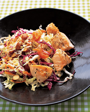 Asian Salad with Salmon