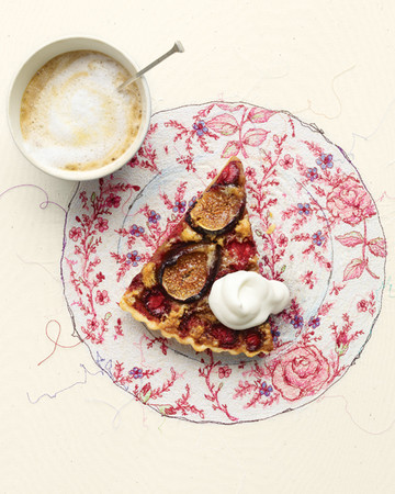Fig and Strawberry Tart