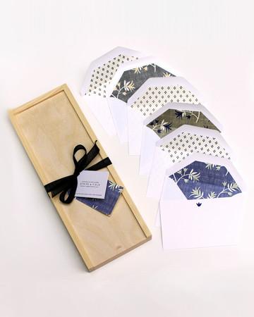 Stripe and Field Box Card Set