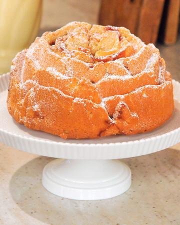 Vanilla Dusty Ol' Okie-Rose Cake