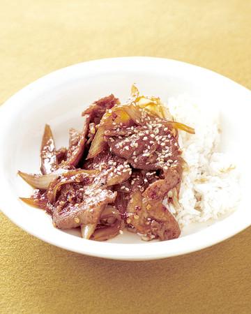 Pork Bulgogi