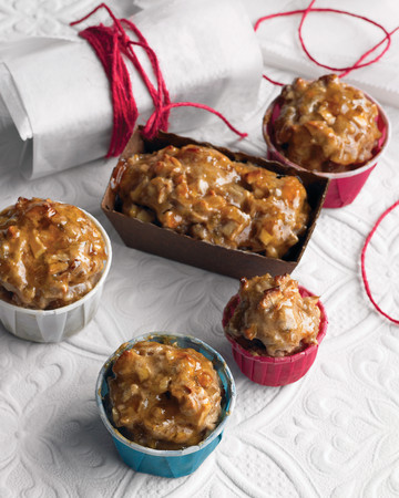 Miniature Golden Fruitcakes
