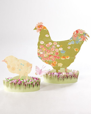 Easter Fabric Silhouettes