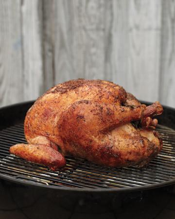 Slow-Grilled Turkey