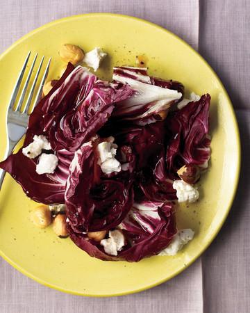 Radicchio, Goat Cheese, and Hazelnut Salad