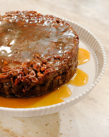 Upside-Down Sticky Toffee Pudding