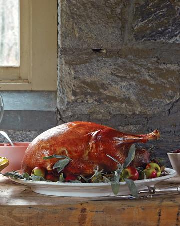 Roasted Heritage Turkey and Dry-Brined Roasted Broad Breasted White Turkey