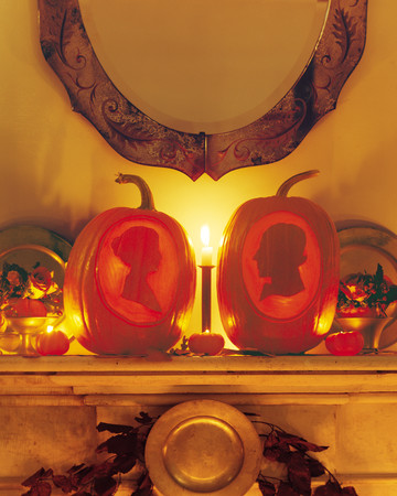 Spectral Pumpkin Silhouettes
