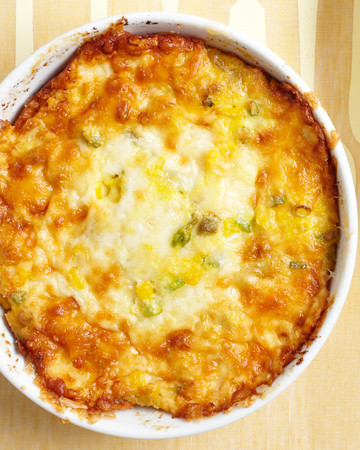 Hatch Chile Corn Pudding