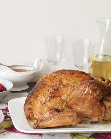 Salt-and-Pepper Roasted Turkey