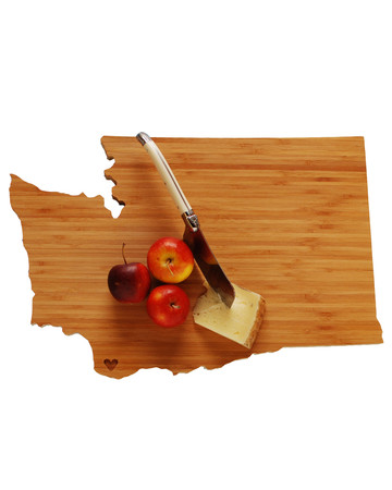 State Cutting Board by A Heirloom