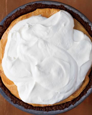 Icebox Pumpkin-Mousse Pie