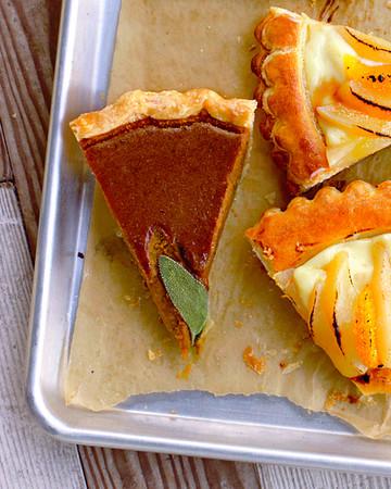 Heirloom-Squash and Pumpkin Pie