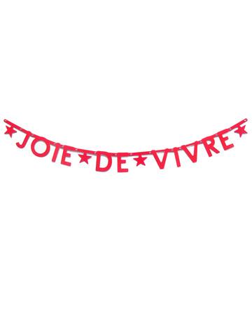 """""""Joie de Vivre"""" Banner"""