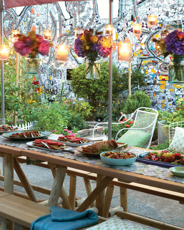 Community Garden Potluck Party