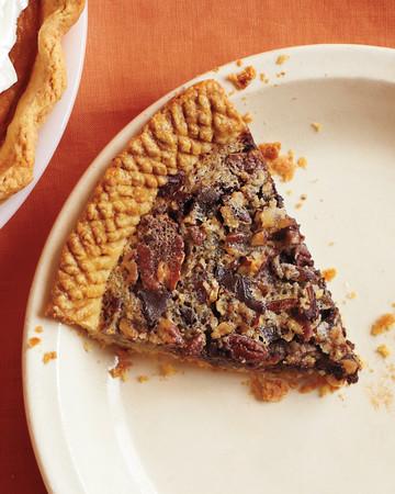 Sorghum-Sweetened Chocolate Pecan Pie