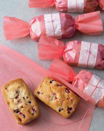 Cranberry-Orange-Walnut Tea Cakes