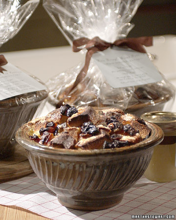 Kris Kringle Bread Pudding