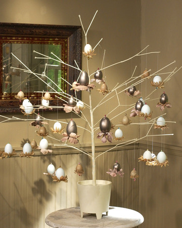 Jeweled Egg Display