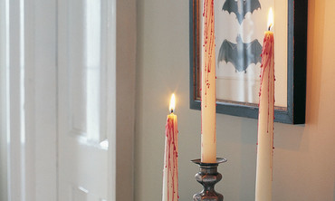 How to Make Bloody Candles for Halloween