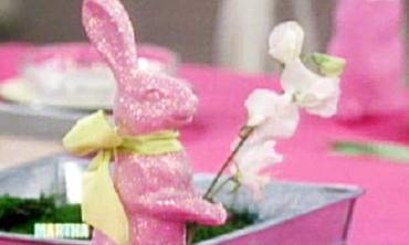 Glittered Bunny