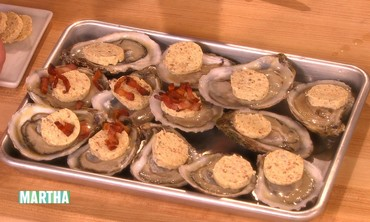 Bacon Roasted Oysters