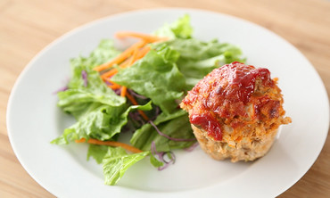Individual Turkey Meatloaf