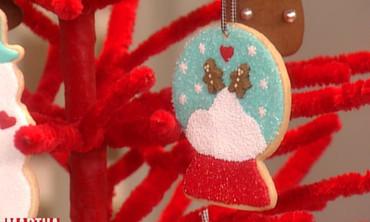 Snow-Globe Cookies