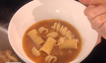 Italian Bean Soup with Pasta