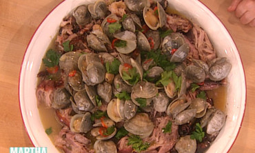 Pork with Roasted Clams