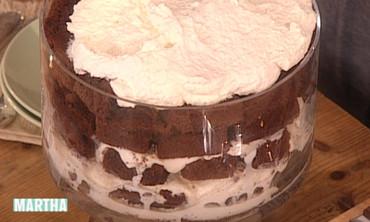 Chocolate Cake Trifle