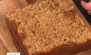Apple Cognac Crumb Cake