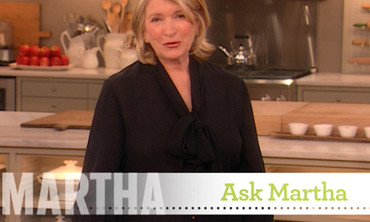 Ask Martha: Landscaping