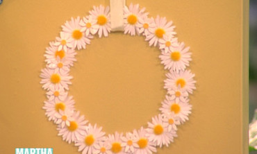 Floral Sticker Wreath