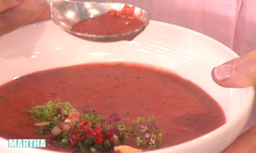 Strawberry Gazpacho
