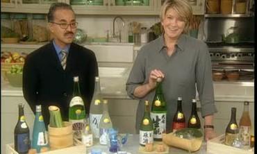 Bon Yagi and Sake